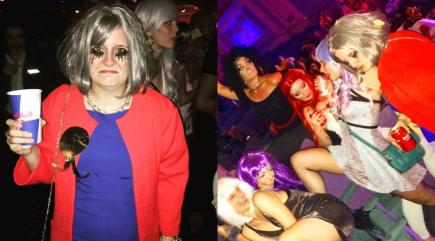 This woman went to a drag night dressed as 'sad Theresa May'