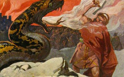 Thor and the Midgard Serpent
