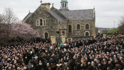 Book of condolence opened in Coalisland for Martin McGuinness