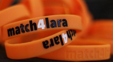 Thousands inspired by Match4Lara campaign join stem cell donor drive