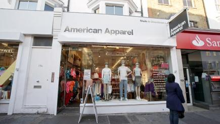 Threat to 180 jobs as American Apparel's UK arm goes into administration