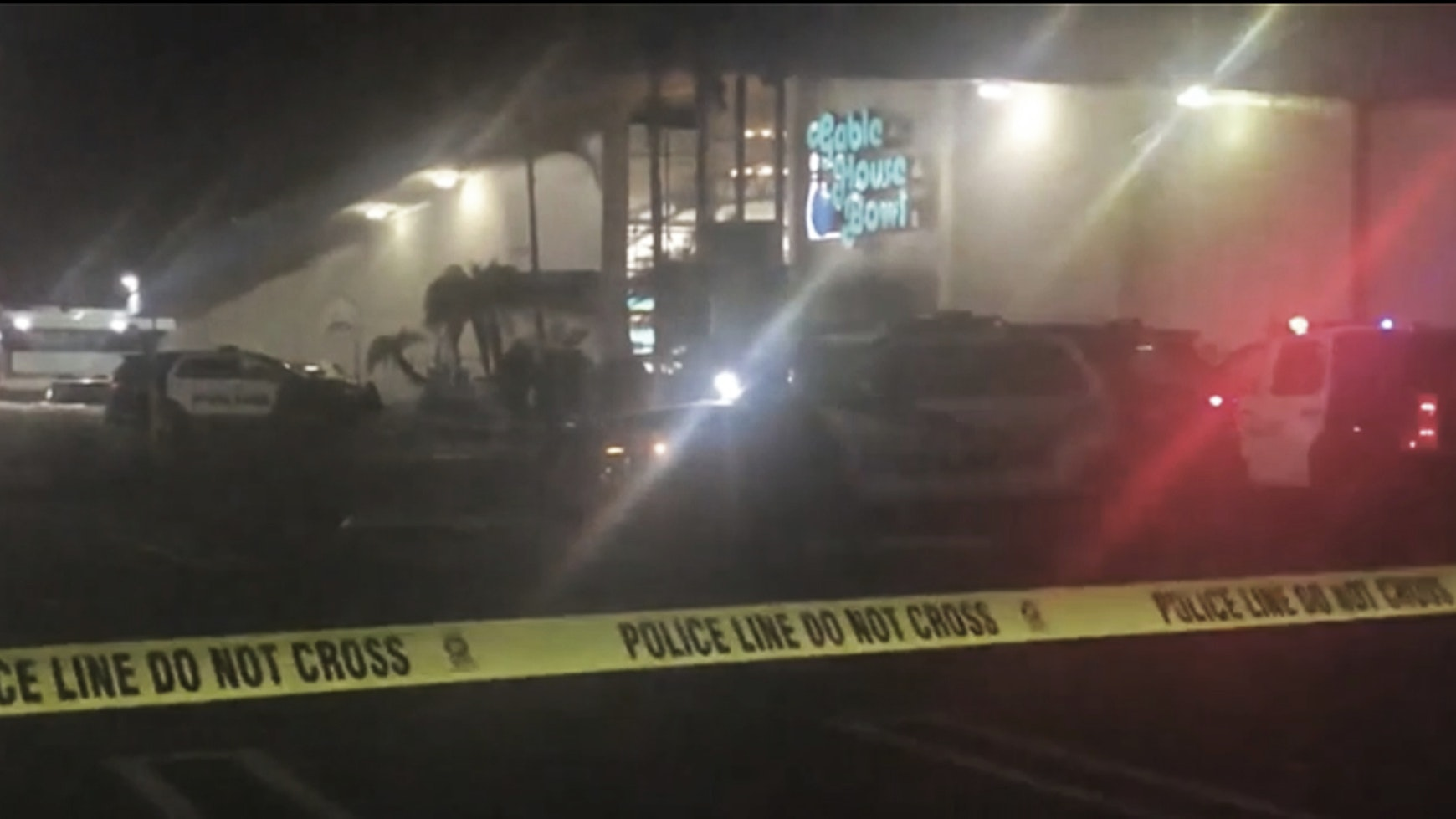 California Police: 'Multiple Victims' in Bowling Alley Shooting