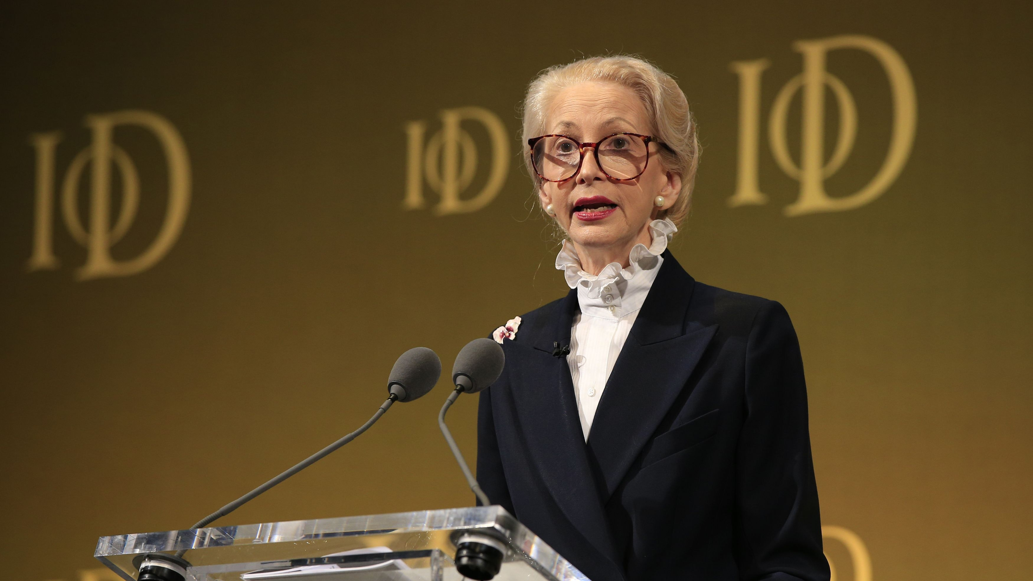 Institute of Directors suspends Barbara Judge amid claims of racism