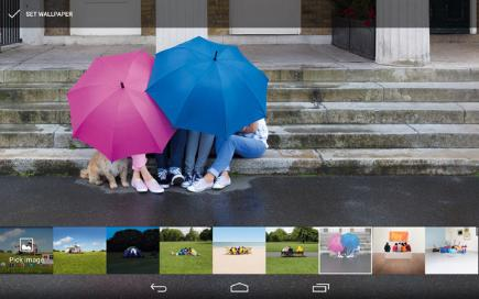 How to customise the Tesco Hudl  2 1 Wallpaper