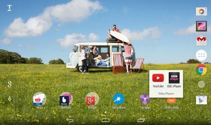 How to customise the Tesco Hudl 3 app folders