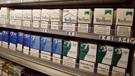 The report said the fast decline of tobacco sales meant that 79 per cent of all small retailer transactions did not include the purchase of tobacco products