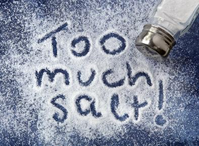 too much salt