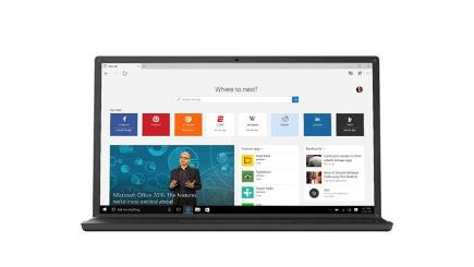 Microsoft Edge browser video