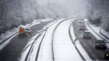 Travel disruption continues as settled snow turns to treacherous ice