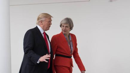 Trump and May to meet for talks in Davos after 'special relationship' tested