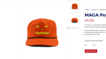 Trump supporters can get into the Halloween spirit with the latest evolution of the MAGA hat