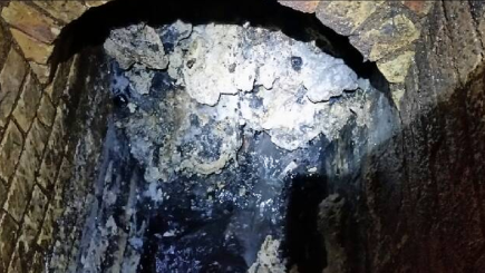 Monster 'fatberg' found in east London sewer