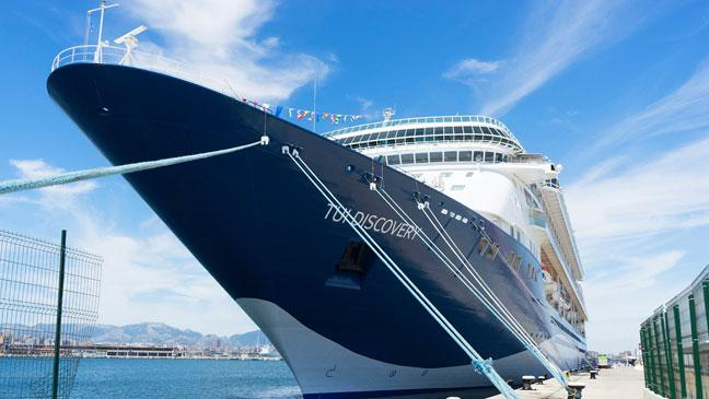 TUI Discovery Behind The Scenes On Thomson Cruises New Cruise - Thomson dream cruise ship latest news