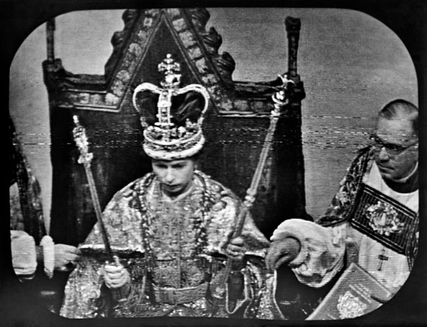 27 million Britons watched the coronation on television.