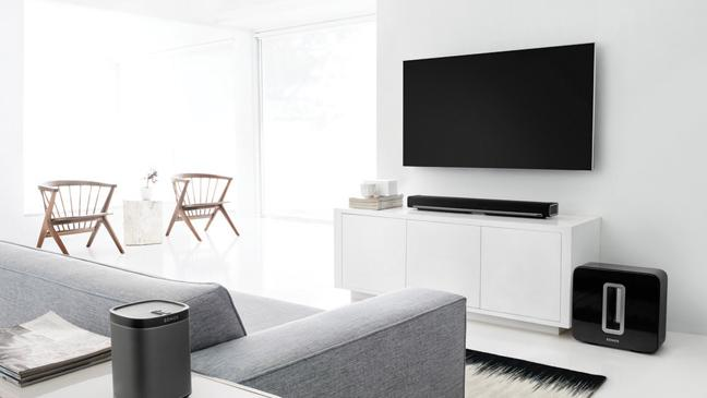 Sonos 51 Home Theatre System In Living Room