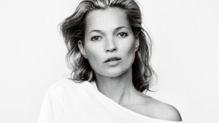 Kate Moss, photographed by Mario Testino (Mario Testino for Fashion Targets Breast Cancer/PA)
