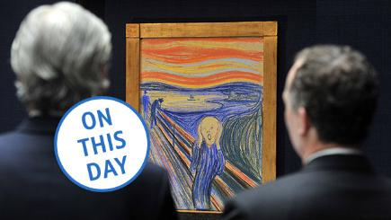 Do you remember? Munch's Scream stolen