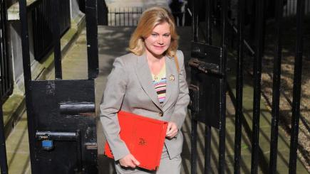 Education Secretary Justine Greening has said she will not proceed with plans to end the role of parent governors at state schools in England.