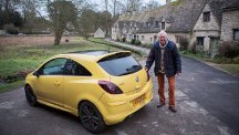 'Ugly yellow car' ruins famous picture-postcard view of Cotswold village