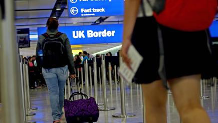 UK entry fee could be used to improve border technology