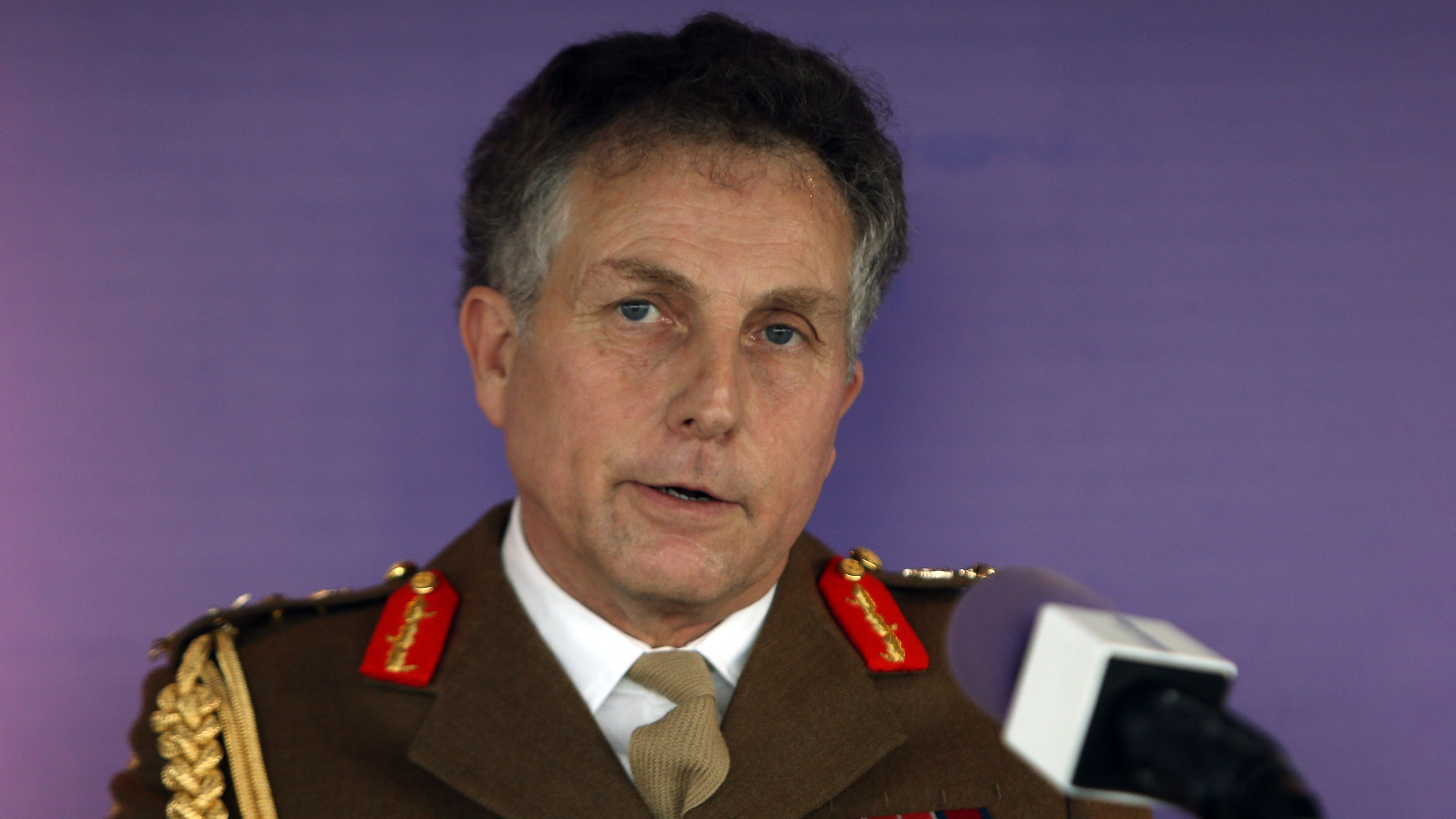 British Army chief warns United Kingdom must keep up with its enemies