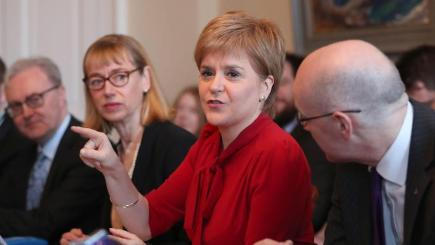 Nicola Sturgeon claims mandate for Scottish independence vote