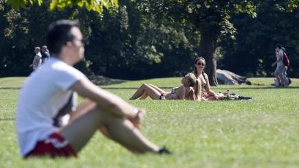 Britain set to bake on hottest day of the year so far