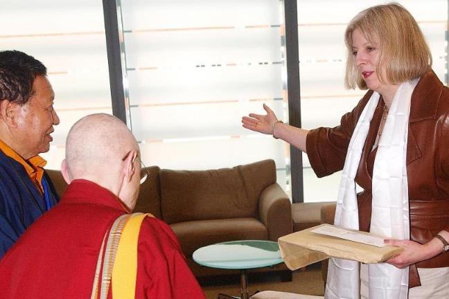 Uk Tibetan Monk Inated