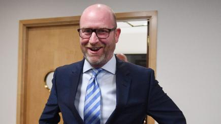 Ukip battle bus winged and damage delays Paul Nuttall's campaign