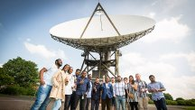 University of South Wales students impressed by visit to BT's Madley Earth Station