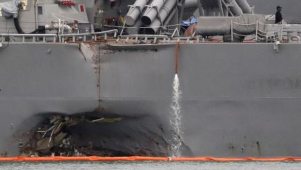 US Navy to remove commander of 7th Fleet amid latest accidents