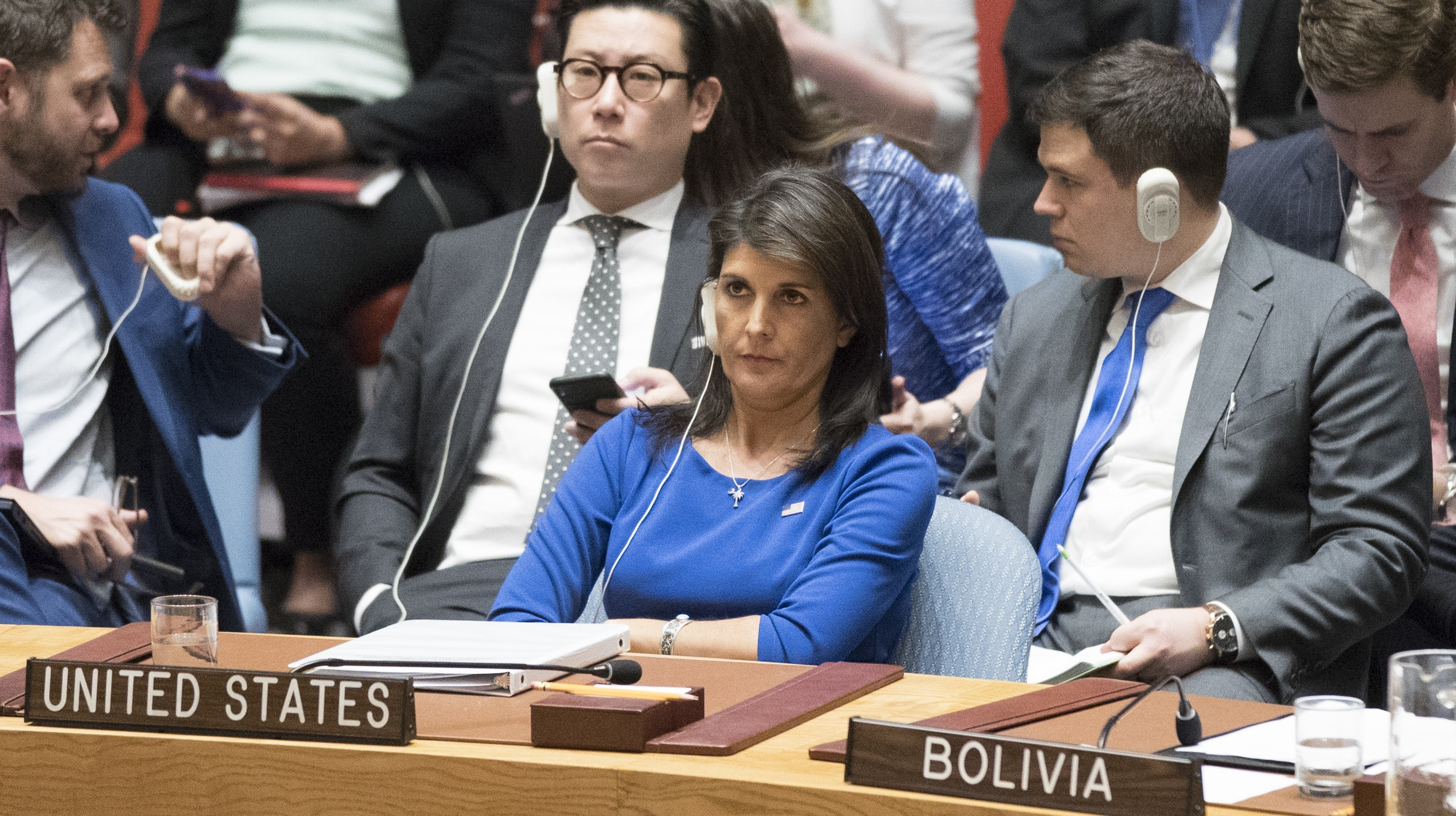 Haley: More Russia Sanctions Coming Following Syrian Chemical Attack