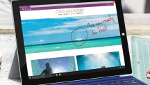 Using Web Note on Microsoft Edge