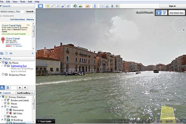 The 7 wonders of Google Earth - BT