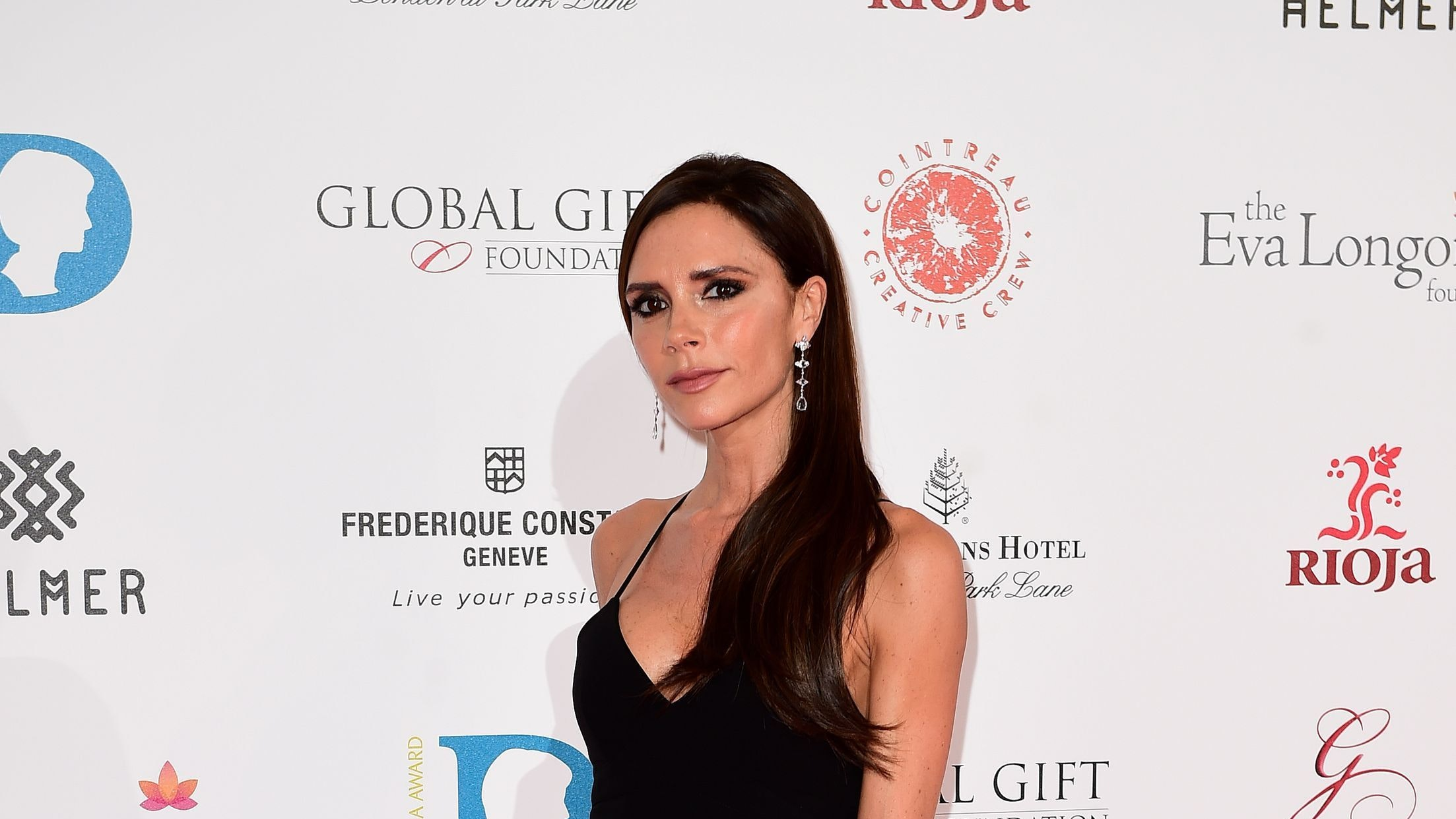 Victoria Beckham Shows Off Harpers New Hairstyle Bt