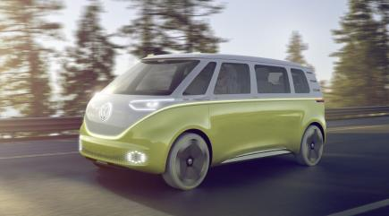 Volkswagen has unveiled the all-electric minibus of the future