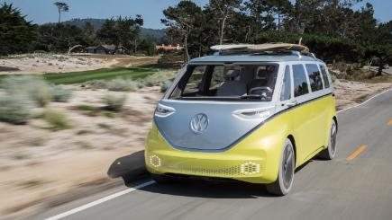 The Volkswagen Kombi is officially coming back