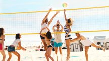 Volleyball for abs and skiing for a peachy bum: The best sports for toning specific body parts