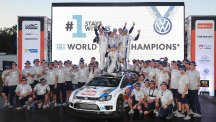 Volkswagen are the 2014 World Rally Champions after Rally Australia win