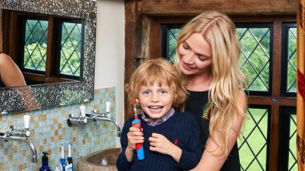 Want to brush up your kids' dental health? Jodie Kidd shares her top tips