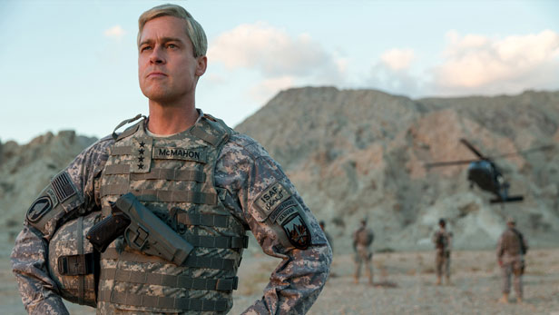 war machine netflix brad pitt