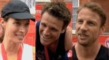 Watch James Cracknell, Jenson Button and Christy Turlington Burns speak about their London Marathon experience