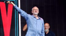 Watch: Jeremy Corbyn had a hero's welcome at his first-ever Glastonbury Festival