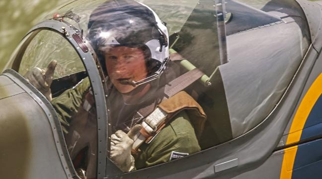 Watch Prince Harry take to the skies in a Spitfire - BT