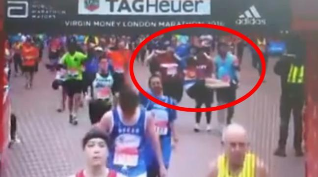 Watch The Touching Moment London Marathon Runners Help Injured Stranger Cross Finish Line