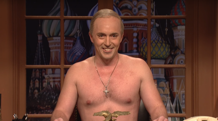 On 'SNL' even Putin makes fun of Trump's Inauguration crowds