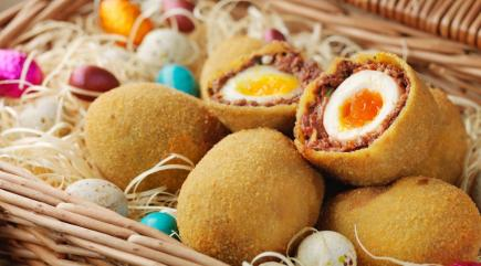 We bring you the 'Chotch Egg' (that's a chocolate Scotch egg)