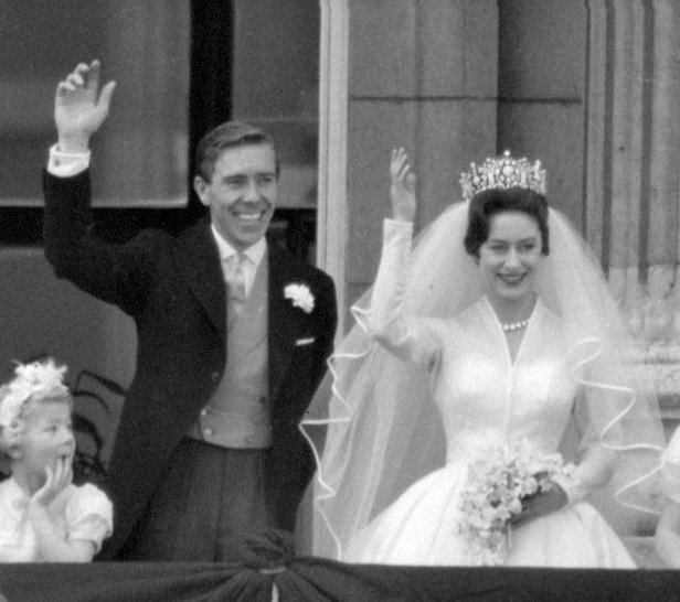 Princess Margaret married Anthony Armstrong-Jones in a grand royal wedding in May 1960.