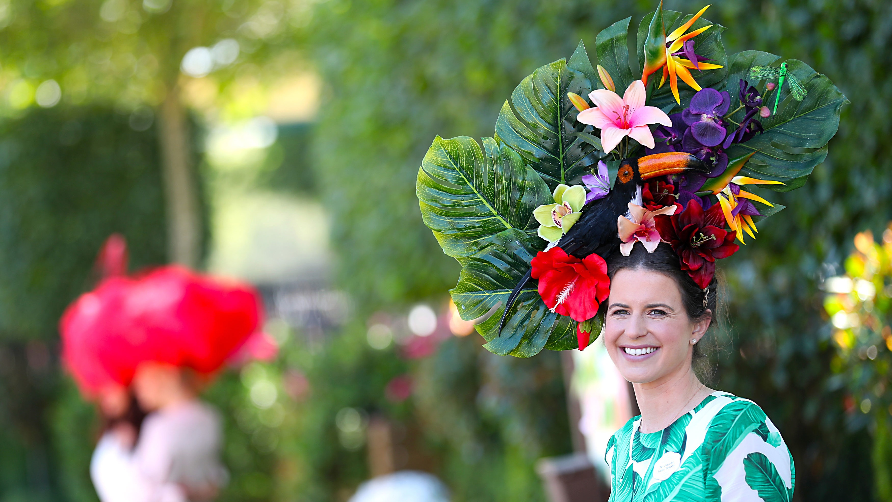 Weird and wonderful hats turn heads on Ladies  Day at Royal Ascot  05c2718ac0e
