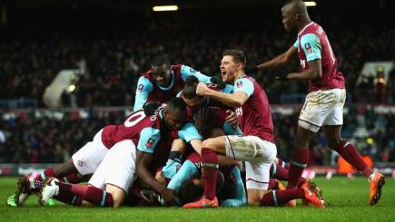 West Ham see off Liverpool with late goal